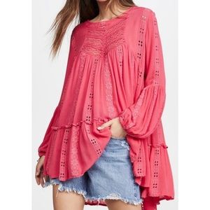 Free People • KISS KISS Tunic Blouse S